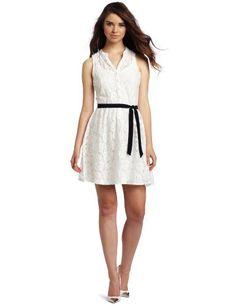 Reviews D.E.P.T. Women's Flowy Lace Dress, Whisper White, X-Large