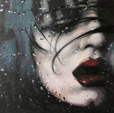 "Another great image from Sailot! Saatchi Online Artist thomas saliot; Painting, ""Dark water"" #art"