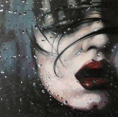 "Saatchi Online Artist thomas saliot; Painting, ""Dark water"" #art"