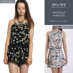 Today Only! 20% OFF this item.  Follow us on Pinterest to be the first to see our exciting Daily Deals. Today's Product: Black Floral Print Cami Crop Top & Shorts Lace Trim Co-Ord Set Buy now: https://small.bz/AAap3Vm #musthave #loveit #instacool #shop #shopping #onlineshopping #instashop #instagood #instafollow #photooftheday #picoftheday #love #OTstores #smallbiz #sale #dailydeal #dealoftheday #todayonly #instadaily