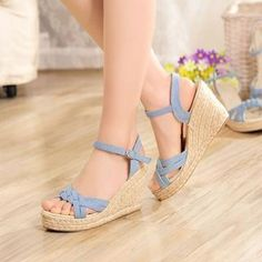 Buy 'Charming Kicks – Braided Espadrille Wedge Sandals' with Free International Shipping at YesStyle.com. Browse and shop for thousands of Asian fashion items from China and more!