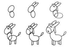 Como dibujar un burrito