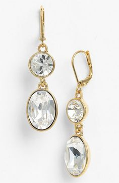 Givenchy Drop Earrings available at #Nordstrom ****need these for the September Maine wedding I am in!