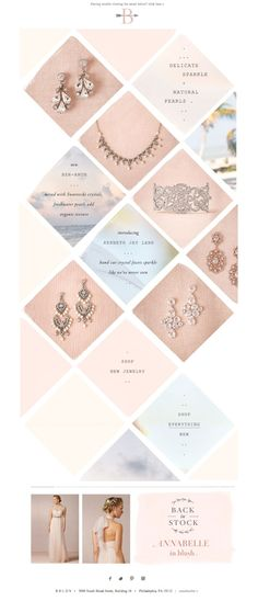 #newsletter BHLDN 06.2014 New to our Jewelry Shop...