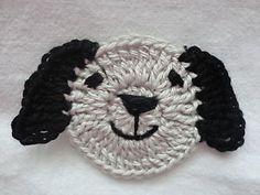 Dog blanket crochet appliqué | KGrHqFHJEgE-muhtjmCBPpyGmBDuw~~60_35.JPG