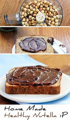 How To Make Healthy Homemade Nutella