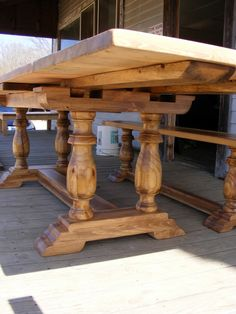 The Woodwork Man specializes in designing and creating one-of-a-kind furniture in Booneville, Mississippi.