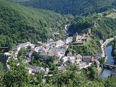 Luxembourg, mooi bergen