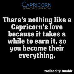 A Capricorn's love