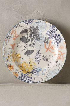 Rosie Side Plate - I love this whole Rosie range of dinnerware. Pottery Plates, Ceramic Plates, Ceramic Pottery, Decorative Plates, Pottery Painting, Ceramic Painting, Ceramic Art, Side Plates, Plates On Wall