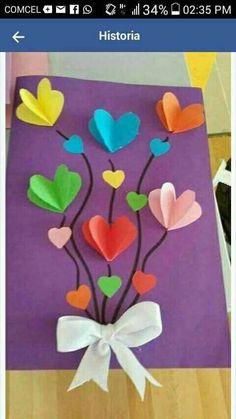 Spring Crafts For Kids Art For Kids Spring Art Easter Crafts Preschool Crafts Art Classroom Future Classroom Flower Crafts Flower Art Kids Crafts, Diy Mother's Day Crafts, Valentine Crafts For Kids, Spring Crafts For Kids, Mothers Day Crafts For Kids, Mother's Day Diy, Mothers Day Cards, Valentine Day Crafts, Preschool Crafts