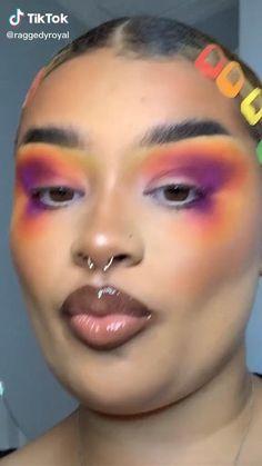 Makeup Eye Looks, Eye Makeup Art, Fairy Makeup, Pink Makeup, Crazy Makeup, Cute Makeup, Makeup Inspo, Makeup Inspiration, Makeup Eyes