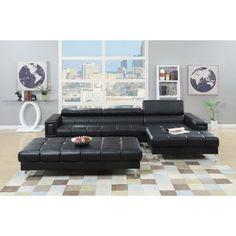 Living Room Furniture - Celine Sectional AJHS1797