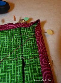 Anna Orduña - Mi Rincón de Patchwork: Tutorial: Bies simple para Quilts rectos Pajama Pants, Pajamas, Summer Dresses, Anna, Ideas, Fashion, Scrappy Quilts, Purse, Tutorials