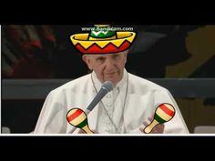 Papa Francesco pazzo da legare mix