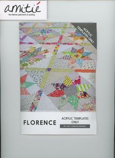 Florence Acrylic Templates by Lucy Carson Kingwell