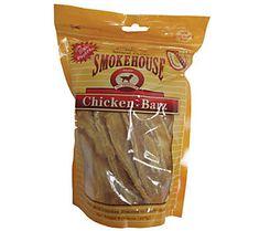 Chicken Barz Dog Treat, 8-oz. Bag