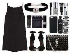 """""""All Simple"""" by tamaramanhardt ❤ liked on Polyvore featuring Sephora Collection, Opening Ceremony, Kenneth Jay Lane, NARS Cosmetics, Make, David Mallett, Isabel Marant, Yves Saint Laurent, Smashbox and Nails Inc."""
