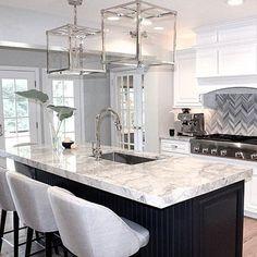 Kitchen Room Design, Modern Kitchen Design, Home Decor Kitchen, Diy Kitchen, Kitchen Furniture, Kitchen Interior, Home Kitchens, Room Kitchen, Dining Room