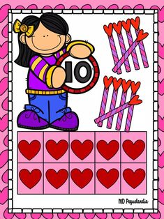 Math For Kids, Classroom Decor, Stickers, Numbers, Decoration, Infant Games, Friendship, Amor, Women Health