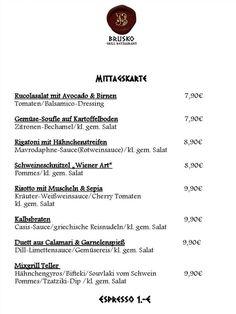 Einen schoenen Start in die Woche. Diese Woche gibt es zu Lunch:    Brusko griechisches Grill Restaurant   www.brusko.de #Mittagslunch #Businessluch #Mittagsmenu #Pause #Brusko #griechischesRestaurant #Muenchen #Schwabing #Leopoldstrasse #Grieche #Restaurant #Eventlocation #griechisches #Grill