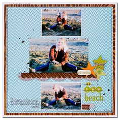 All Smiles at the Beach *Bella Blvd* - Scrapbook.com