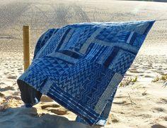 - INDIGO SHIBORI PATCHWORK - Sally Campbell, Handmade Textiles - MY LATEST RANGE OF DESERT JEWELS
