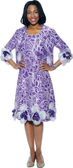 Take a look at the Purple Swirl Floral Ruffle Sheath Dress & Jacket - Women & Plus on today! Holiday Dresses, Spring Dresses, Special Occasion Dresses, Dresses 2014, Dresses Dresses, Women Church Suits, Suits For Women, Jackets For Women, Church Attire