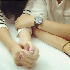 Lovely dp Girl Couple, Couple Shoot, Romantic Couples, Cute Couples, Cool Dpz, Love Heart Images, Dps For Girls, Couple Hands, Love Is When