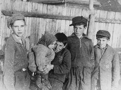"Approximately 10,000 children and youth moved into the Kovno ghetto in August, 1941. Within a few months almost half had perished.  In July 1942, pregnancy became illegal and punishable by death. The Kovno ghetto ""Children's Action"" took place on March 27-28, 1944. During the two-day action, 1300 children who were below the age of 12 were either shot at the Ninth Fort or deported by train to an unknown locale, where they were killed."" George Kadish photo."