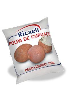 A Polpa de Fruta Riacaeli sabor Cupuaçu é um produto 100% Natural, é Distribuída de Fruit Mix nas embalagens de 100g e 1Kg (10 unidades de 100g)