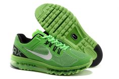 the best attitude 1a045 52f42 Nike Air Max 2013 Poison Green Black Silver Men s Shoes  cheap  green  shoes