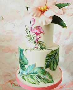 Image result for modern tropical cake