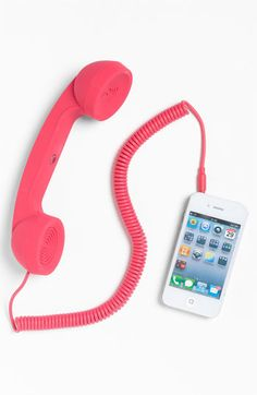 Native Union 'Pop Phone' Handset | Nordstrom – why do I think this is kind of great?