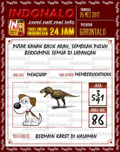 Kode Pakong 6D Togel Wap Online Indonalo Gorontalo 26 Mei 2017