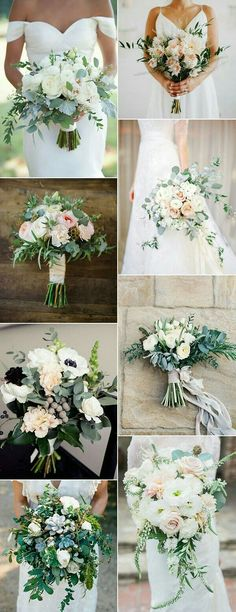 amazing wedding bouquet ideas with green floral 2017 trends. Something like this for Katie's bouquet? Wedding 2017, Trendy Wedding, Perfect Wedding, Our Wedding, Dream Wedding, Wedding Signs, Wedding Rustic, Elegant Wedding, Luxury Wedding