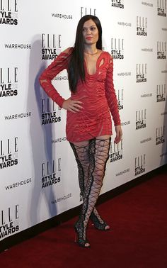 Red Carpet Rundown: The 2014 Elle Style Awards Were A Competition Of Bizarre Outfits