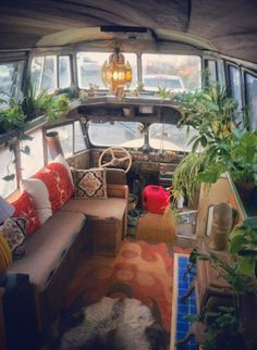 renovated schoolbus #hippiebus