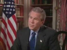 BANNED Pres. Bush Interview George Bush interview banned on Amer\ican TV
