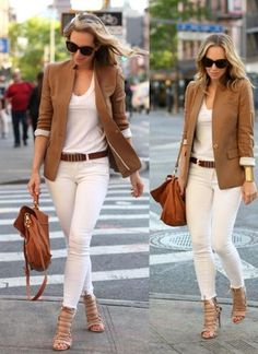 business casual outfits for women you. Best Work Outfits For Women As anyone who works in an office knows, figuring out a different outfit for every day of t Blazer Outfits For Women, Casual Work Outfits, Business Casual Outfits, Mode Outfits, Office Outfits, Blazers For Women, Classy Outfits, Chic Outfits, Trendy Outfits