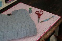 borsa da vecchio maglione