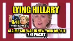 """At a campaign event Tuesday night in Florida, Hillary Clinton claimed that she was in New York City on 9/11. She told the LIE while discussing terrorism and the threat posed by ISIS. """"I know what happened not far from here at Pulse night club in Orlando,"""" she said. """"I was in New York City on 9/11 as one of the two senators. I will defeat ISIS. I will protect America."""" However, according to Politico, Hillary was in D.C. at her home in Whitehaven when the first plane hit the World Trade…"""