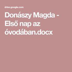 Donászy Magda - Első nap az óvodában.docx