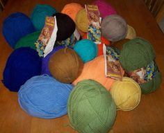 First Lady Carefree Four Ply Worsted Weight Yarn Crochet Knit