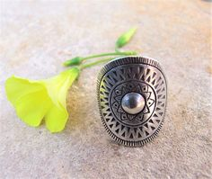 Sterling Silver ring. Silver Jewelry. Ethnic ring. Ethnic