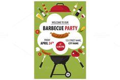 Barbecue party invitation @creativework247