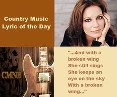 Country Music Lyrics: Martina McBride #countrymusic