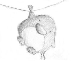 Drying Penguin by B-Keks on DevianArt Cute Cartoon Drawings, Pencil Art Drawings, Doodle Drawings, Disney Drawings, Easy Drawings, Drawing Sketches, Penguin Drawing, Penguin Art, Animal Sketches
