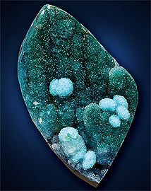 Azurite / Malachite from Arizona, Jewelry Artist Magazine / Mineral Friends <3
