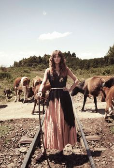 """Duchess Dior: """"Nomade"""" Freja Beha Erichsen by Glen Luchford for Vogue Paris April 2014"""